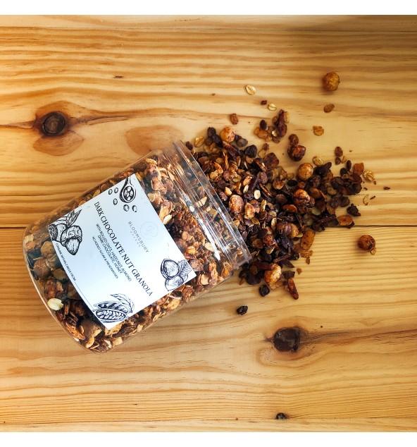 Dark Chocolate Nut Granola (230g)