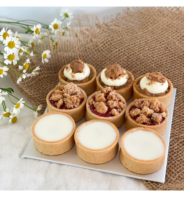 Mother's Day Tart Set (9pcs)